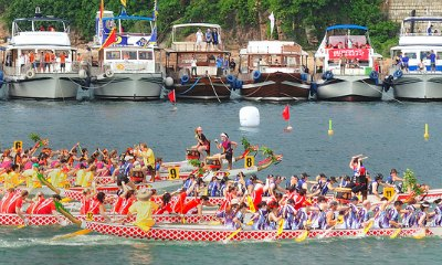 Dragon Boat Festival Races in Stanley