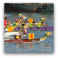 Hong Kong Festivals and Events: Dragon Boat Races
