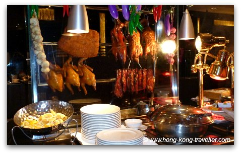 Hong Kong Food: Barbeque pork, duck, dimsum