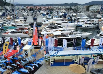 The Hong Kong International Boat Show at Club Marina Cove