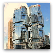 Hong Kong Landmarks: Bond Centre/Lippo Towers