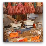 Hong Kong Markets: Dry Goods Market
