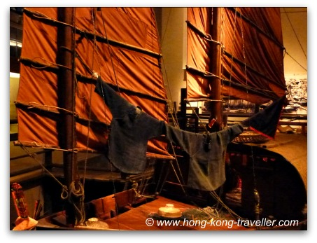 Sampan Sailboats at HK Museum of History