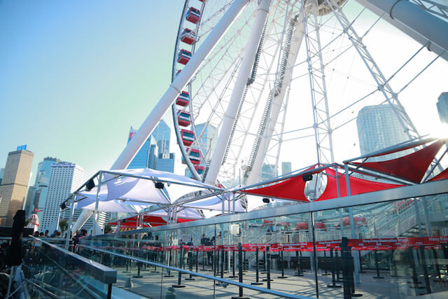 Hong Kong Observation Wheel Entrance Deck