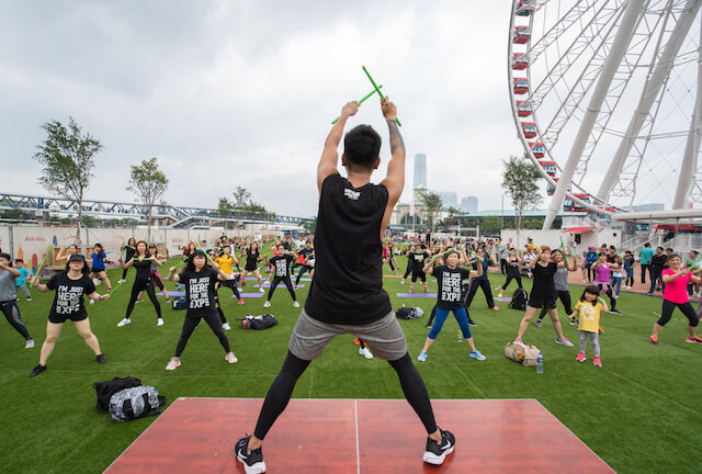 Hong Kong Observation Wheel Free Cross Fit Classes