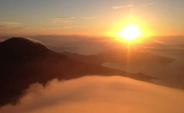 Lantau Peak Sunrise Hike