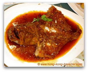 Stir-fried Fish in Chilli Sauce