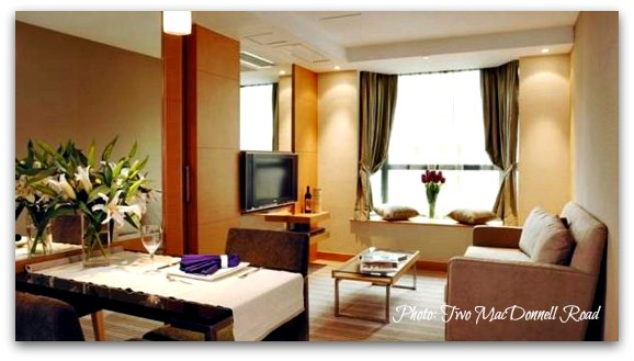 Serviced Apartments  in Hong Kong: Two MacDonnell Road