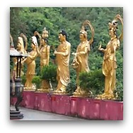 Hong Kong Temples:Ten Thousand Buddha Monastery