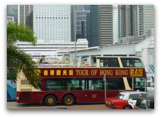 Hop on Hop Off Bus in HK