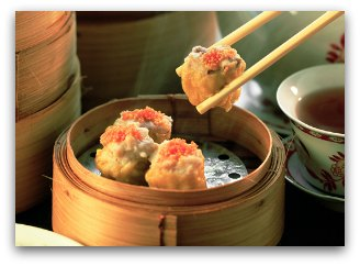 Dim Sum and chopsticks