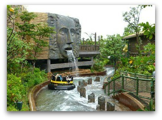Rapids Ride at Rain Forest in Ocean Park