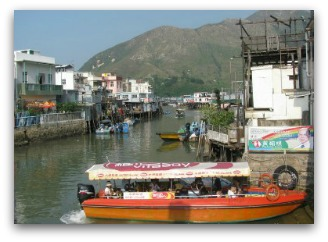 Stilt Houses at Tai O Fishing Village