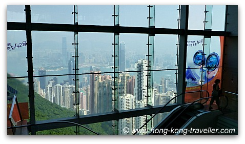 Inside Victoria Peak Tower