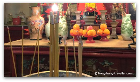 Hungry Ghost Festival Offerings