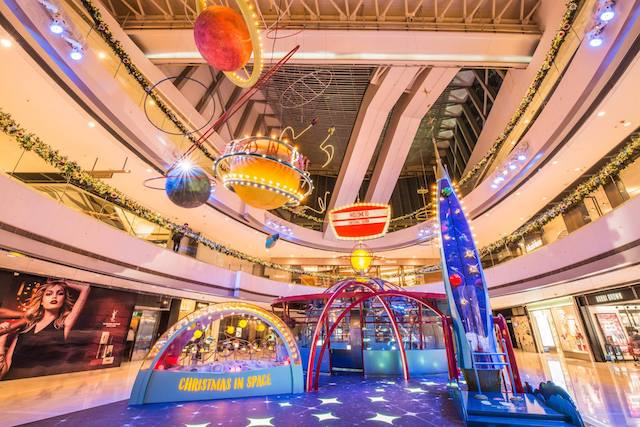 IFC Mall Christmas in Space