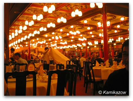 Jumbo Floating Restaurant interior