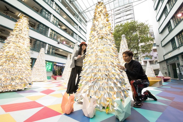 Jungle All The Way At PMQ: an environmental-friendly, design-centric Christmas installation