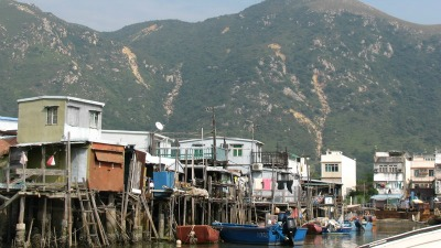 Stilt Houses at Tai O Village