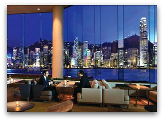 Victoria Harbour from Intercontinental
