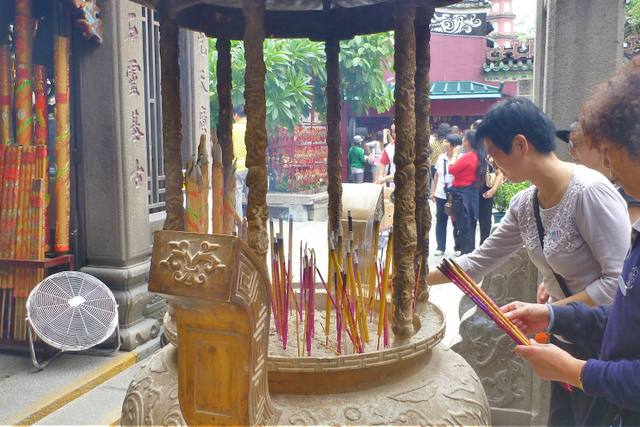 Ancient Traditions Praying at Temples