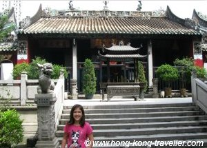 Macau Attractions: Kun Iam Temple