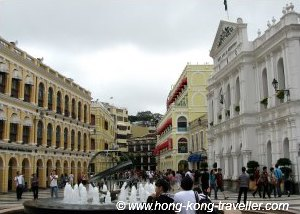 Macau Attractions: Largo do Senado