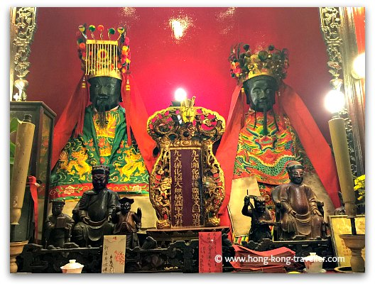 Man Mo Temple  Gods: Man God of Literature and Mo God of War