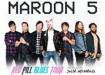 Maroon 5 Red Pill Blues Tour Live