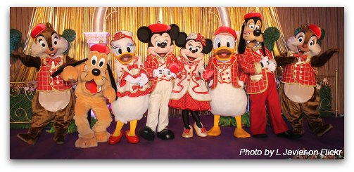 Mickey and Friends at Christmas Time