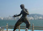 Bruce Lee Statue at the Avenue of the Stars