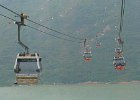 Riding the Ngong Ping Cable Car