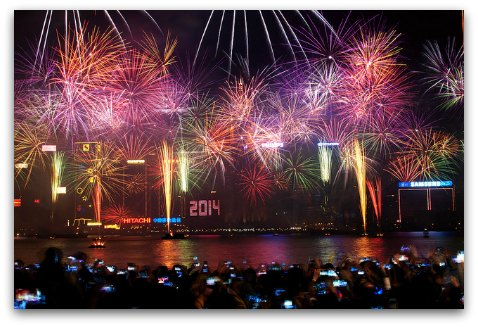 Hong Kong New Year's Countdown