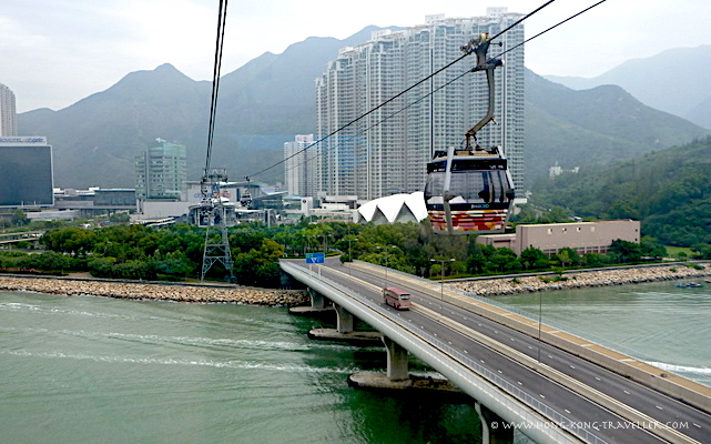 Leaving Tung Chung Lower Station