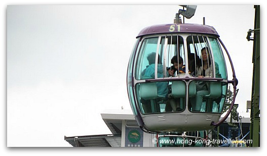 Ocean Park Cable Car Cabin
