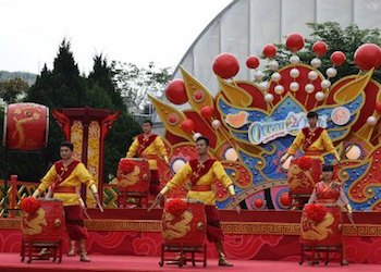 Ocean Park Chinese New Year Drummers