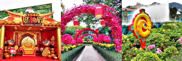 Chinese New Year Decor at Ocean Park