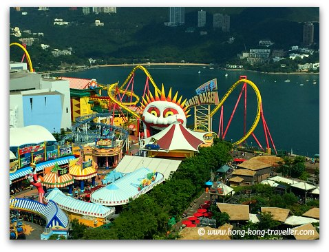 Ocean Park Roller Coasters at the Summit