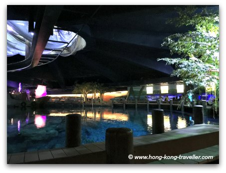 Ocean Park Shark Mystique Overhead Pools