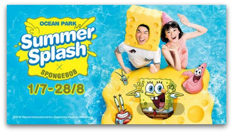 Ocean Park Summer Splash in Hong Kong