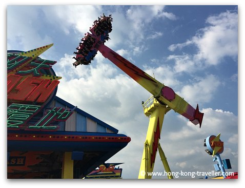 Ocean Park Thrill Rides: The Flash