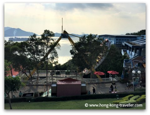Ocean Park Thrill Rides: The Crazy Galleon