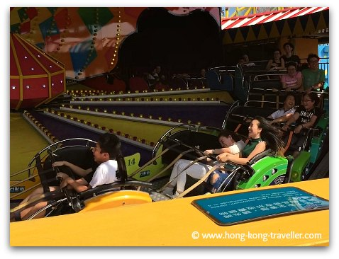 Ocean Park Thrill Rides: Rev Booster
