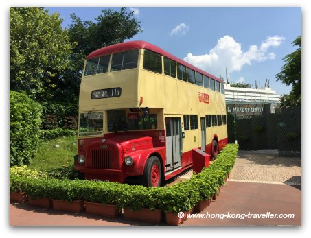 Double Decker Bus at Old Hong Kong