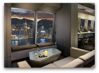 Ozone Bar At the Ritz Carlton Hong Kong