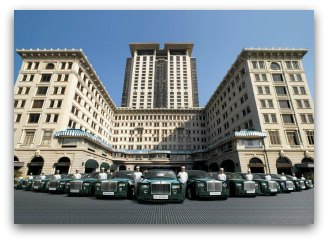 Peninsula Hotel Hong Kong and Rolls Royce Fleet