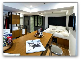 Modern chic decor at Residence G