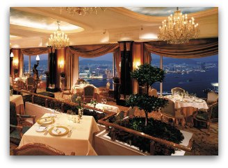 Restaurant Petrus at the Island Shangri-La