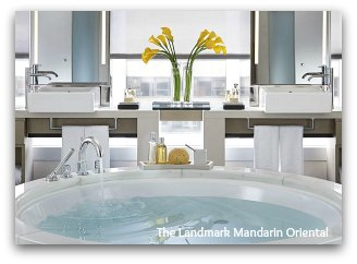 The Landmark Suite Master Bath