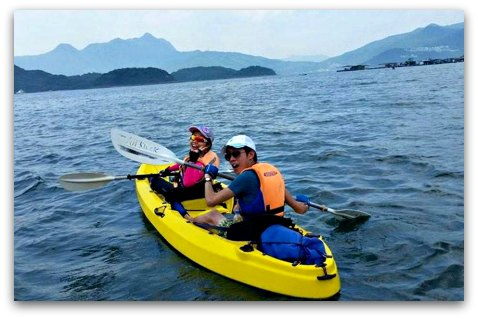 Sai Kung Sea Kayak Excursion